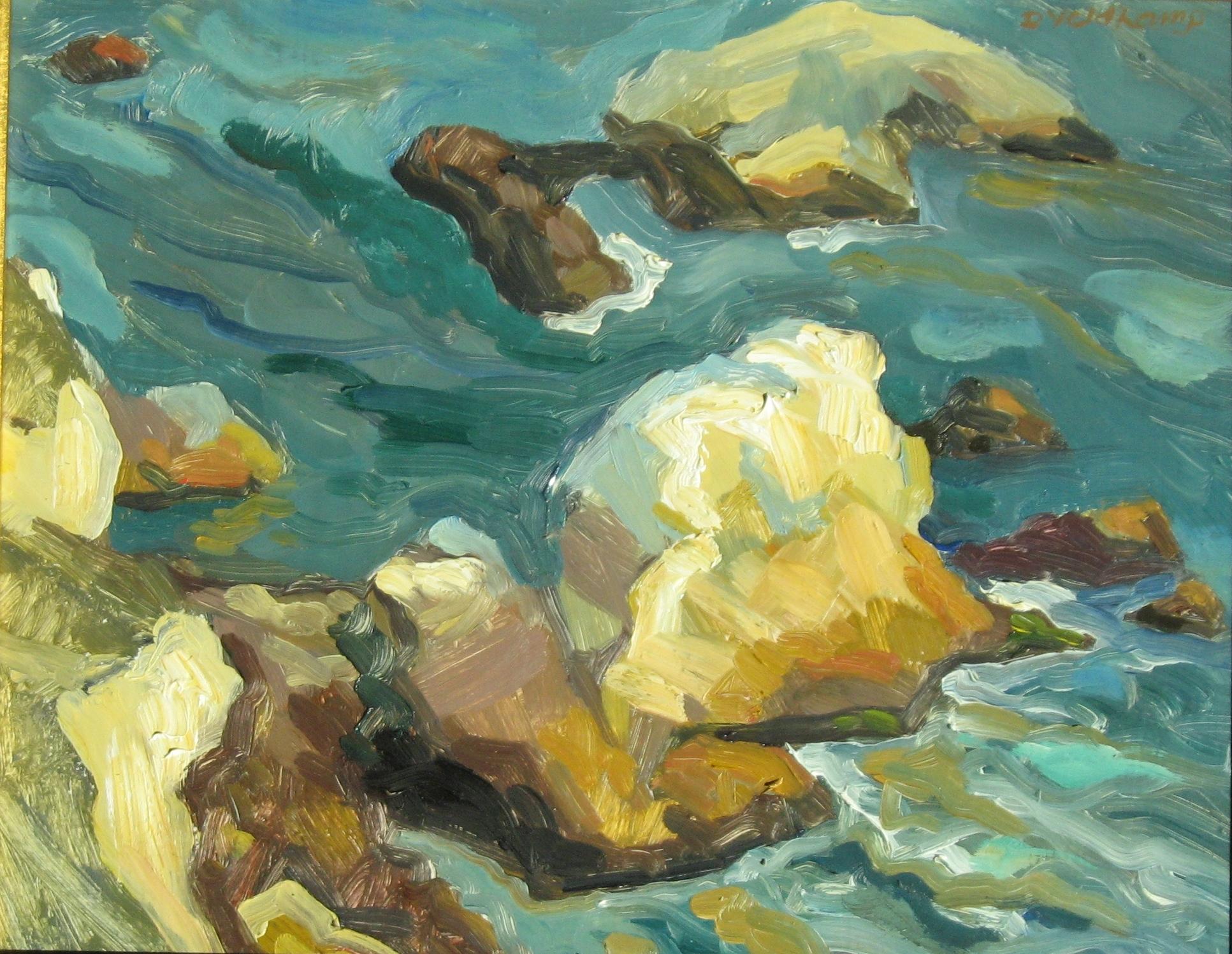 Last Light on Rocks, 2010 - UNAVAILABLE