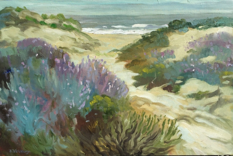 Morro Dunes 20x30 inches, oil on canvas