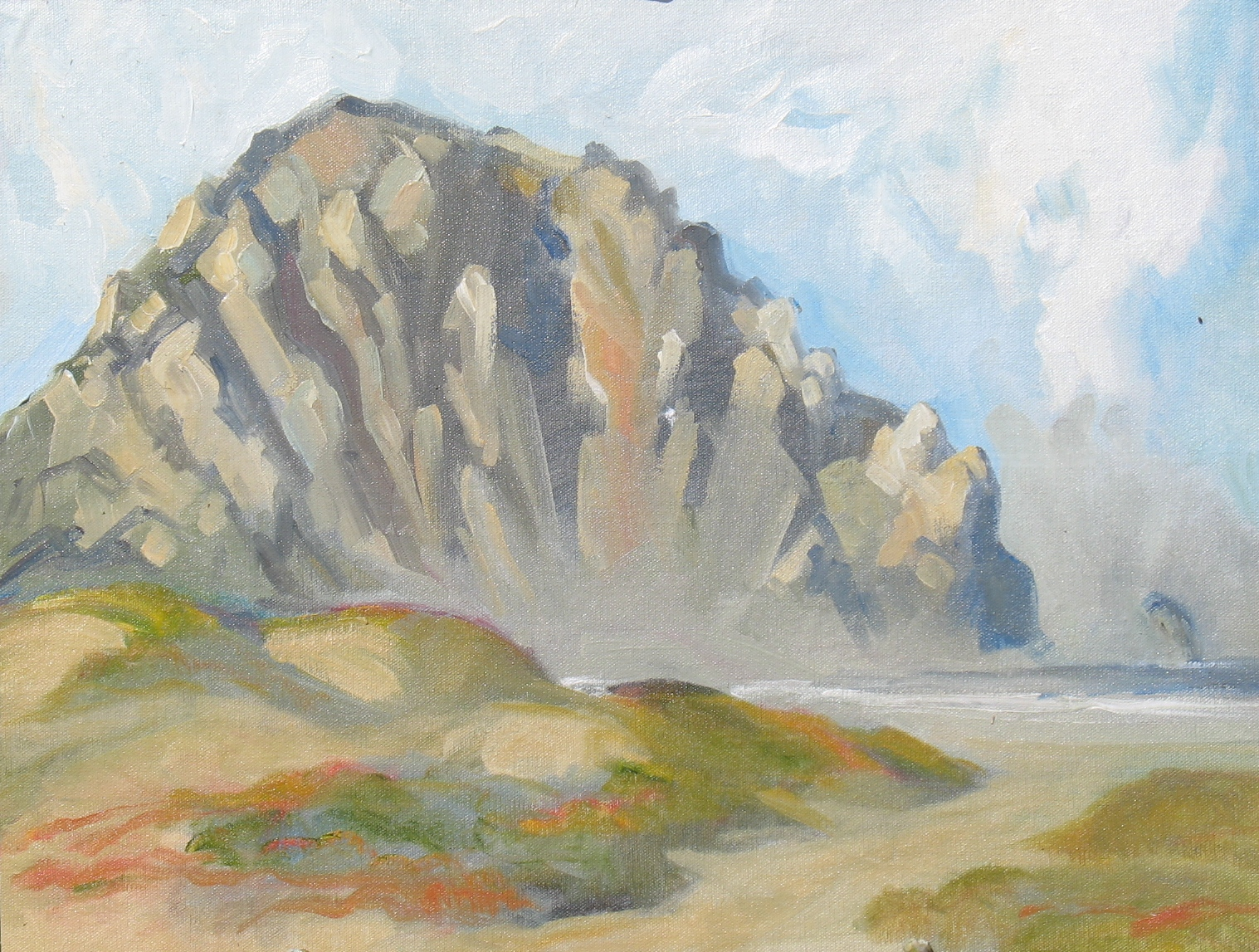 Morro Rock,  16 x 20 inches, oil on canvas - UNAVAILABLE