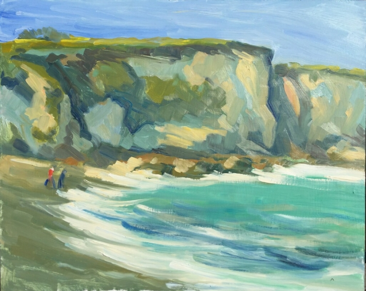 Spooners Cove Oil on panel 18 X 22 in