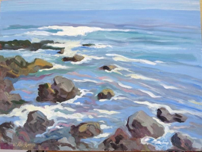 The Sea, 18 x 24