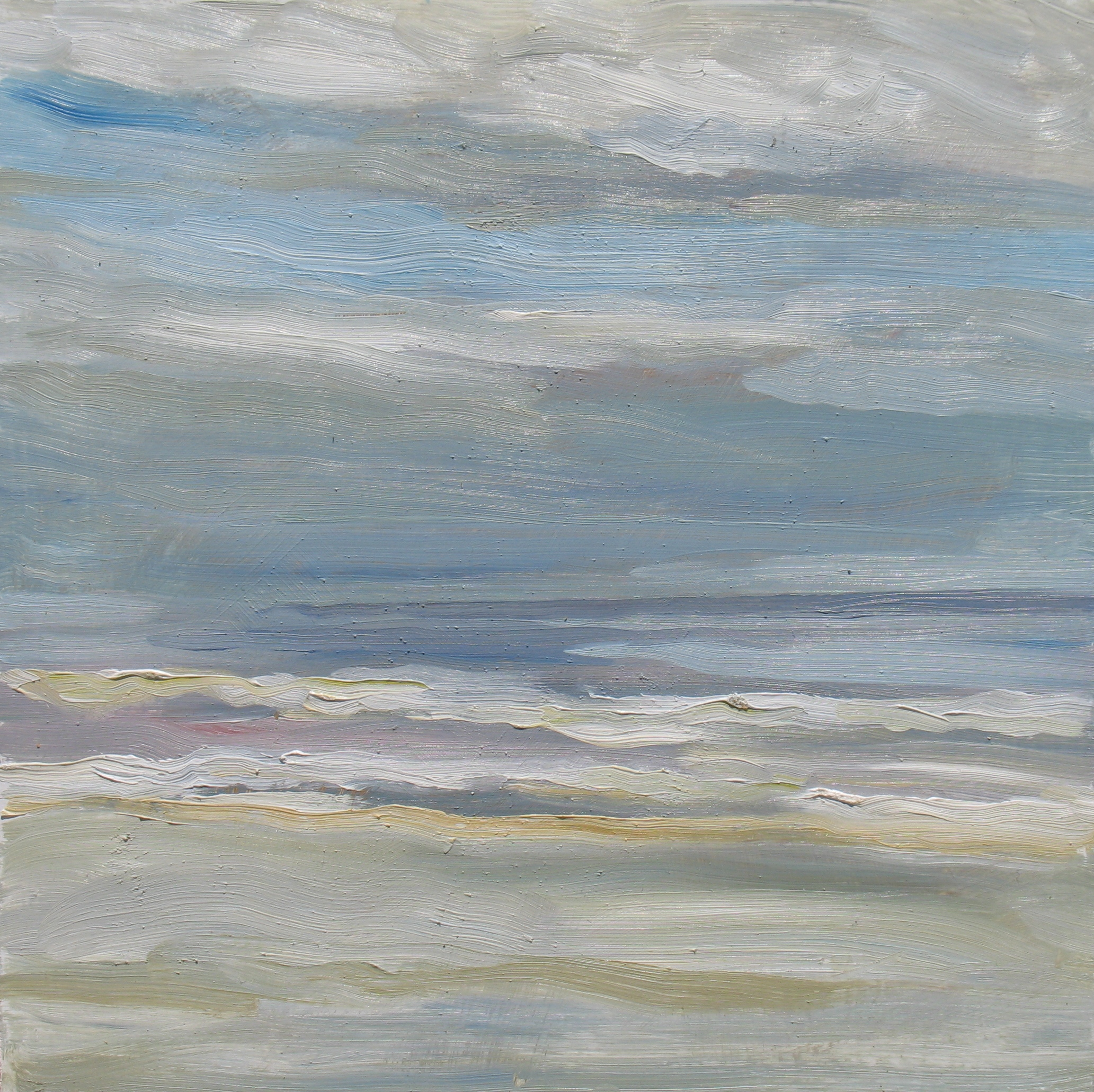 Waves and Light, 11 x 11 inches, 2011