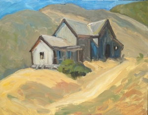 Old Froom Ranch, 11 x 14 inches oil on board
