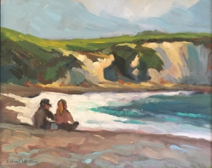 picnic at high tide 18x22
