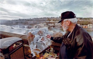 Uncle John Wadd painting